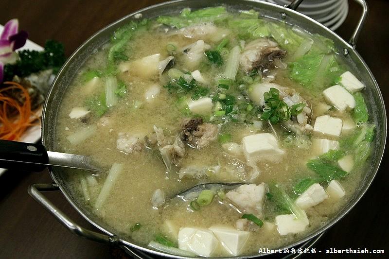 台北中正.北海漁村:澎湖鮮魚 (味噌湯) (1)