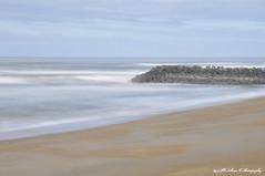 Une des plages d'Anglet (AlPekone) Tags: ocean longexposure sea france beach landscape amazing nikon long exposure waves playa paysage plage pays basque biarritz paysbasque sudouest anglet longexpo