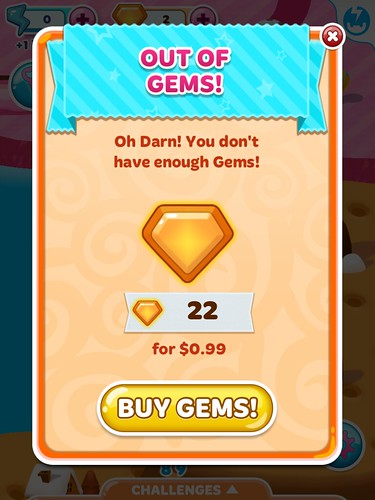 Candy Blast Mania Virtual currency Bank: screenshots, UI