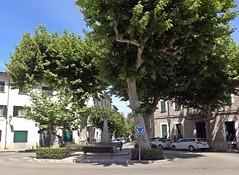 Gran Via (Bricheno) Tags: espaa fountain spain espanha mediterranean roundabout espana mallorca spanien spagna spanje majorca baleares soller granvia  espanya  balearics hiszpania sller   bricheno