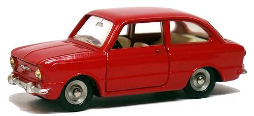 10 Dinky F Fiat 850