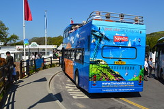Alum Bay (PD3.) Tags: uk sea england bus english buses ahead island bay volvo open cove top go battery hampshire quay southern vectis solent topless needles isle channel topper wight breezer alum olympian xrv hants goahead 872 xdl 4637 puckaster r737xrv xdl872 r737