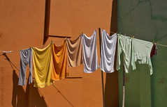 il Tricolore (TimBrook | Photo) Tags: venice italy colors colours flag line washing burano