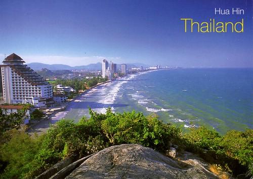 A view from Ta Kiap Hill, Hua Hin