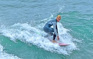Surfer - Huntington Beach Pier