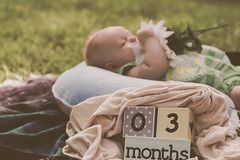 (katmariephoto) Tags: family flowers trees portrait baby love nature girl parents sweet country daughter mother grow mama maternity growth age months props