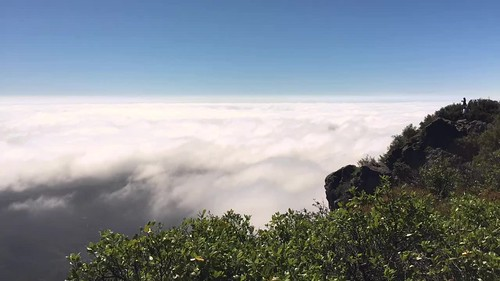 Clouds moving across Mt Tamalpais