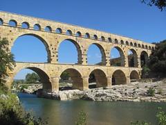 Pont du Gard (Rheline) Tags: france gard pont bridge aquaduct roman romain aqueduc