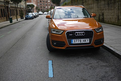 Audi (Jusotil_1943) Tags: coche auto cars redcars