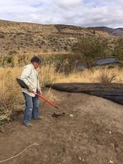 IMG_1420 (Oregon Natural Desert Association) Tags: denny jones ranch weed mat removal 2016 stewardship trips