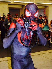 DSC_0090 (Randsom) Tags: nycc 2016 newyorkcomiccon nycomiccon javitscenter october nyc newyorkcity cosplay costume fun comicbooks comicconvention marvelcomics avengers spidermanfamily spiderverse spiderman milesmorales nikon camera peterparker spandex black red