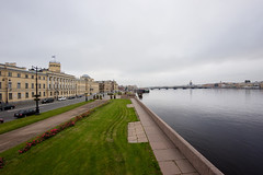 Nevsky horizon -   (Valery Parshin) Tags: river neva russia vasilyevskyisland saintpetersburg stpetersburg fisheye 8mm samyang sky valeryparshin ingermanland