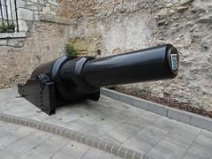 10 inch Muzzle Loading Gun (delta23lfb) Tags: gibraltar artillery gun muzzle 10inch