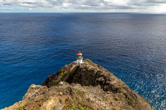 Makapuu Point Lighthouse (Bob Kirschke) Tags: makapuupointlighthouse hawaii bobkirschke lighthouse light pacificocean blue coast hawaiianislands makapuupoint