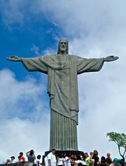 Corcovado, Rio de Janeiro, Brazil (susiefleckney) Tags: corcovado riodejaneiro brazil cristoredentor christtheredeemer