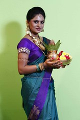 South Actress Deepika Das Traditional Photos Set-1 (10)