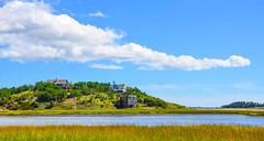 A moment in time.... (tomk630) Tags: cape cod massachusetts morning cloud homes bay water tidal marsh usa