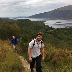 Just starting th climb (barronr) Tags: scotland lochlomondthetrossachsnationalpark benlomond theptarmigan