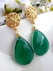 روعة اللون الأخضر والذهبي في الاكسسوار.. (Arab.Lady) Tags: روعة اللون الأخضر والذهبي في الاكسسوار