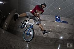 "Jarad Tay ""Cross-handed Hang Nothing"" (Kris Gironella Photography) Tags: citylinkjam bmxflatland bmxphotography bmx singapore esplanade canoneos6d canonef815mmf4lusmfisheye canonspeedlite600exiirt nikonspeedlightsb900 nikonsb900"