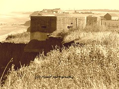 Nearly gone but never forgotton. ((c) MAMF photography..) Tags: ww2 worldwar2 worldwartwo britain sepia coast england eastyorkshire eastcoast flickrcom flickr google googleimages gb greatbritain greatphotographers greatphoto hull hu11 aldbrough image mamfphotography mamf north old photography photo uk unitedkingdom upnorth village sea seaside