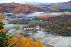 Misty Dunkeld (eric robb niven) Tags: ericrobbniven scotland dundee dunkeld birnam landscape walking cycling perthshire trees autumn
