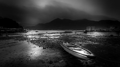 Low Tide (Gerald Ow) Tags: tai o hongkong canon eos 5dmkii 5dmk2 geraldow 1740mm f4l ef boat low tide