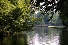 Late summer Nymphenburg (dididumm) Tags: nymphenburgpalace park bridge water latesummer meadow green baroque houseofwittelsbach summerresidence sommerresidenz hauswittelsbach barock grn wiese sptsommer brcke wasser schlosspark schlossnymphenburg bavaria bayern munich mnchen germany