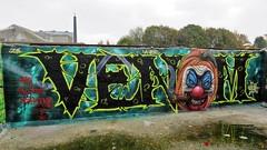 Venom / Dok Noord - 29 okt 2016 (Ferdinand 'Ferre' Feys) Tags: gent ghent gand belgium belgique belgië streetart artdelarue graffitiart graffiti graff urbanart urbanarte arteurbano venom martin