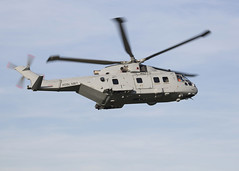 Royal Navy AW101 Merlin Mk4 1st Flight (Leonardo S.p.A) Tags: aw101 merlin mk4 royalnavy life sustainment programme commando helicopter force leonar leonardo