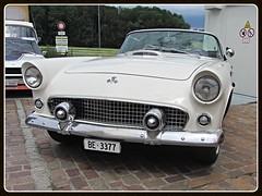 Ford Thunderbird, 1955 (v8dub) Tags: ford thunderbird 1955 t bird schweiz suisse switzerland american pkw voiture car wagen worldcars auto automobile automotive old oldtimer oldcar klassik classic collector
