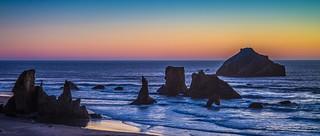 Bandon Rainbow Sunset