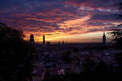 from dawn to dusk (PH-AC) Tags: verona canon 24stm citt city italy sky cielo dusk