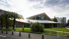 General view of Okayama University, Junko Fukutake Hall (Junko Fukutake Hall) (christinayan01) Tags: architecture building perspective hall japan sanaa sejima kazuyo nishizawa ryue roof