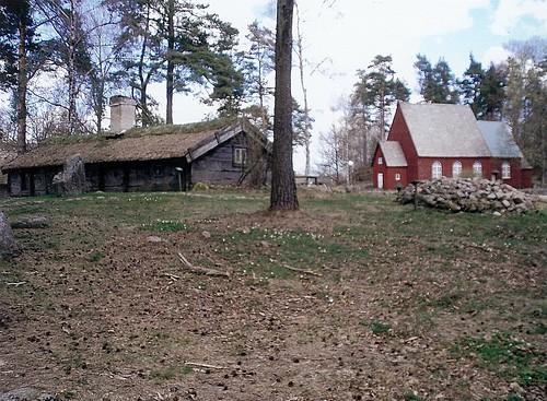 Gamla hus i friluftsmuseet Ramnaparken, Borås, 2007 (2)