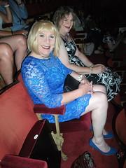 Taking Our Seats (rachel cole 121) Tags: tv transvestites transgendered tgirls crossdressers cd