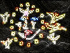 effe improvisation Dec 2016 (Lola and Yukao Meet) Tags: lolaandyukaomeet liveaudiovisual livecinema shamanism fetishism rituals extasy vjing loops dronemusic tribal generativedrawings generativemusic cellularautomata effe fantasy digital drawing digitlart apocalypse