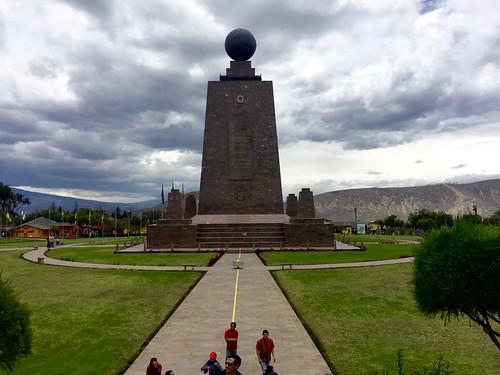 The Monument at Mitad del Mundo
