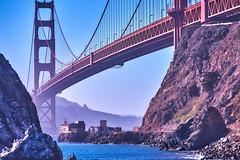 Viewpoint (AgarwalArun) Tags: none sonya7m2 sonyilce7m2 sony sanfrancisco goldengatebridge goldengate bayareacalifornia iconicbridge pacificocean ocean bridge marincounty scenic views landscape reflections fog marinelayer