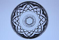 Wine Glass Perspective (Ellsasha) Tags: backlight hockglass wineglass light lighting design crystal