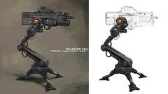 Aleksi_Briclot_-_Splinter_Cell_UPS_Tripod (Pandmonium) Tags: drone tourelle