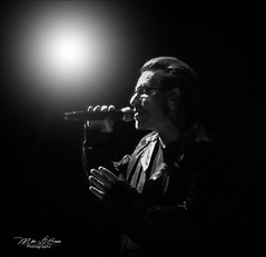 Bono (mikederrico69) Tags: u2 bono singer tour concert show entertainment bw blackandwhite monochrome song artist person idol event irish experience band tickets icon music popular hits albums lyrics stage activist sunglasses world dublin jam pop energy message great musician musicianship records dvd album talent studio audience dance beat singles chart grammy rock rockband
