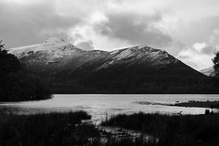 The Lake District (Daniel Mortimer) Tags: lake district water mountain hill snow black white blackandwhite sky cloud clouds grass trees tree outside nature natural england uk europe canon canon7dmarkii sigma wideangle