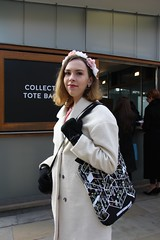 Vox Pop - Ici Londres (soleneelle) Tags: french style fashion week london english photo report voxpop magazine spring museum sloane square