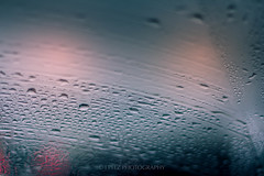 Horrible Weather...... (J. Pelz) Tags: bokeh drops rain windscreen weather