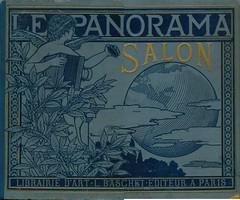 Le Panorama Salon, 1900, cover (janwillemsen) Tags: bookcover jugendstil artwork album 1900