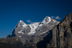Eiger & Mnch (?) (mightymightymatze) Tags: switzerland schweiz suisse mrren bern berne berneroberland lauterbrunnen lauterbrunnental mountains mountain berge berg alpen alps alpes