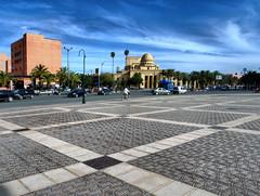 Maroc (denismartin) Tags: denismartin marruecos morocco marrakech gueliz theatre city hdr maroc sky cloud weather theater royaltheater