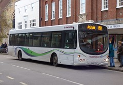 Compass Bus DK09 DZE Chichester 22/11/16 (jmupton2000) Tags: dk09dze wright wrightbus eclipse volvo b10ble compass bus travel worthing sussex