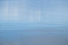 Peace (zinnia2012) Tags: peaceful calm blue water minimal pastel contemplative stillness zinnia2012 eau lake paisible